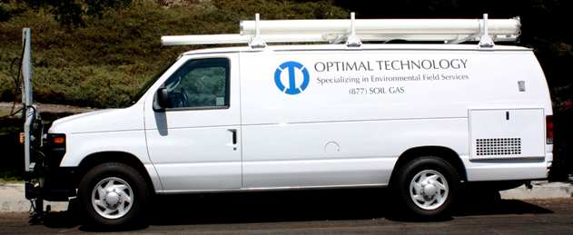 Optimal Technology - Services - Soil Gas Testing